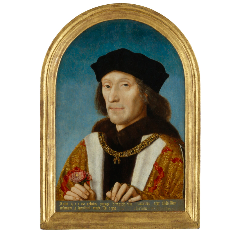 Henry VII, unknown Netherlandish artist, National Portrait Gallery, London