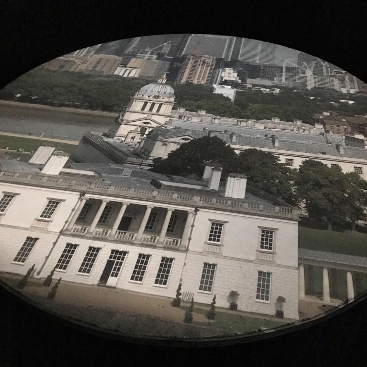 View from Camera Obscura at Royal Observatory, Greenwich