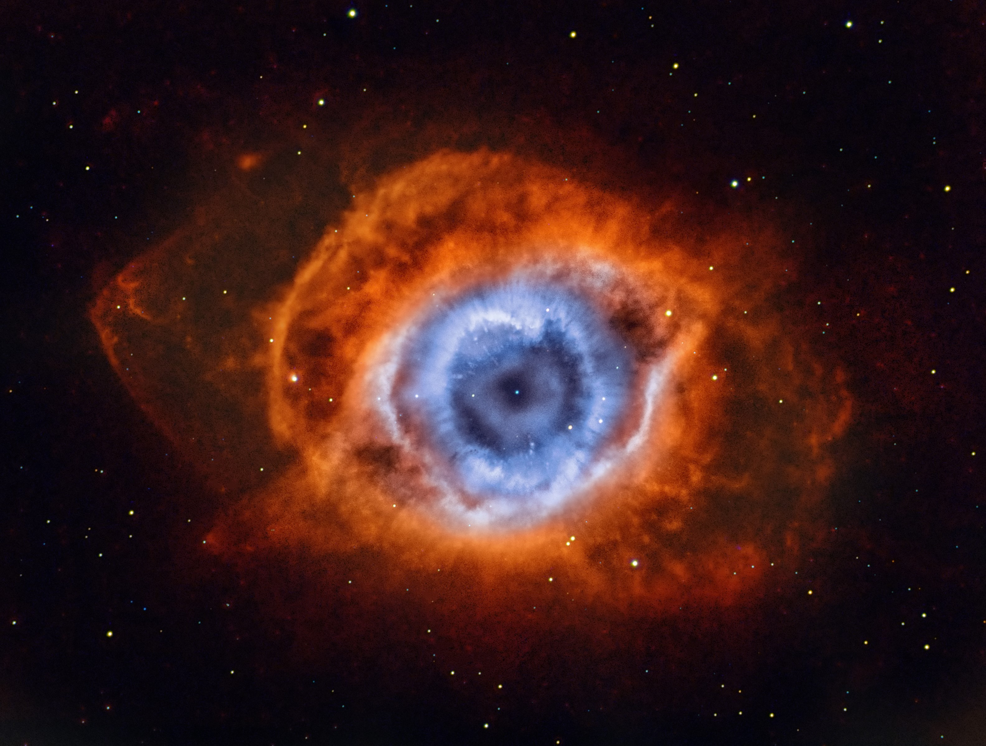 Insight Investment Astronomy Photographer of the Year 2019 | Stars and Nebulae - Deep in the Heart of Mordor - NGC 7293 by Andrew Campbell