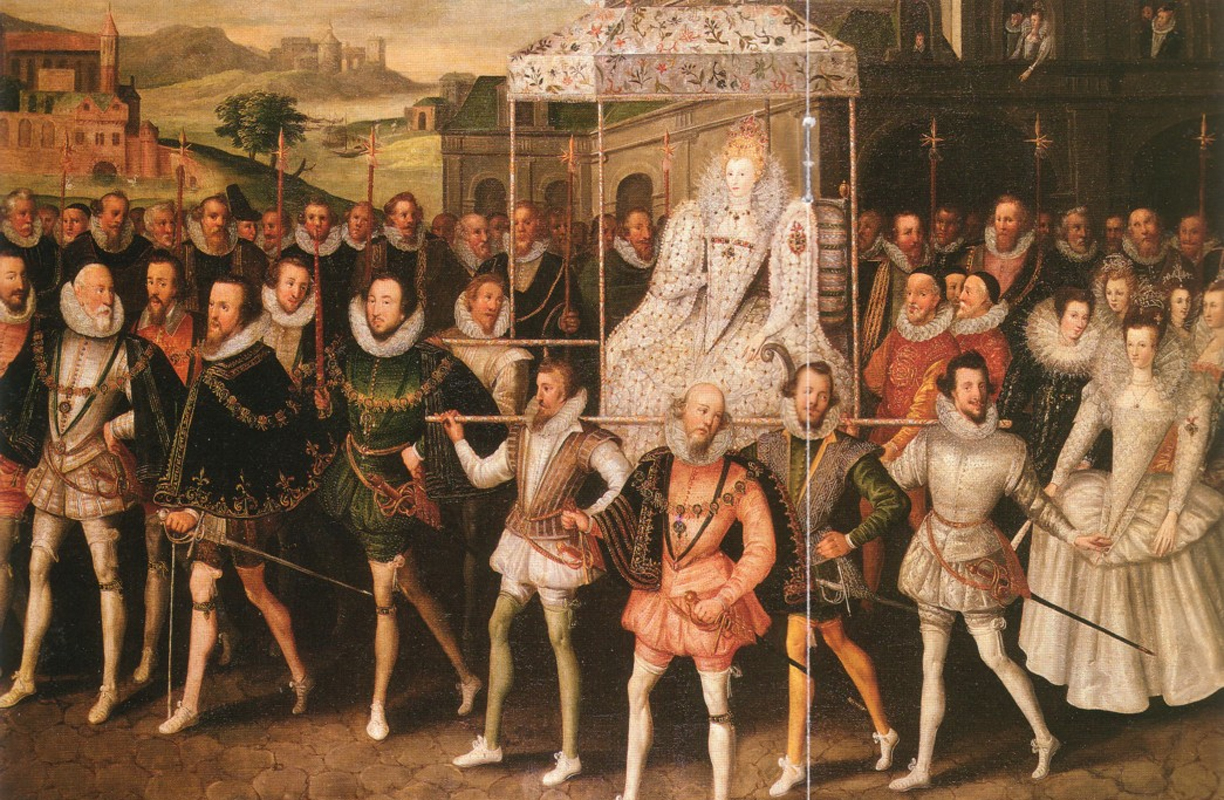 Image result for queen elizabeth the first was crowned