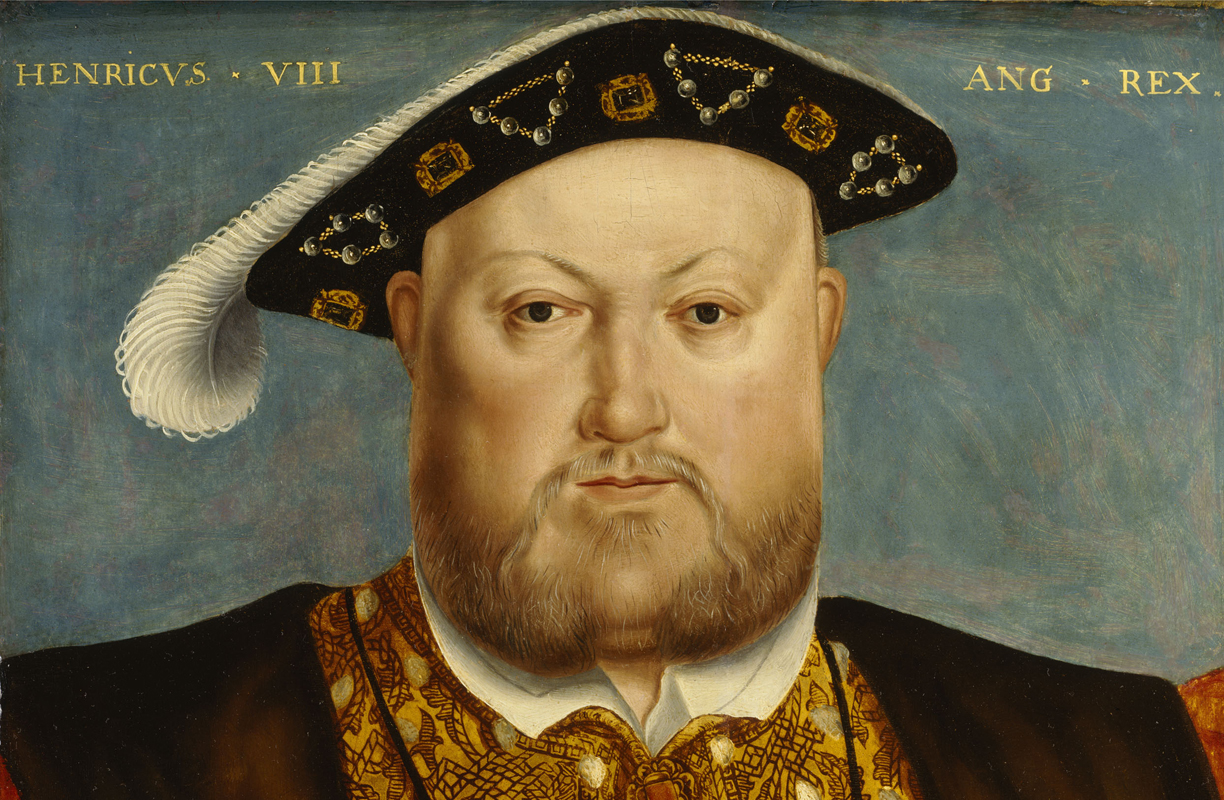 Painting of Henry VIII by Hans Holbein | 16th Century Oil on Canvas | National Maritime Museum, Greenwich, London
