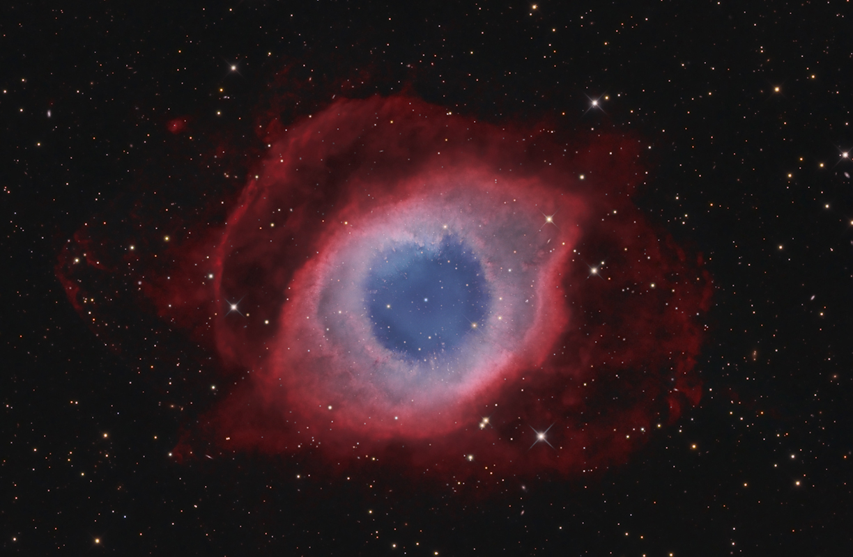 Photograph of NGC7293 Helix Nebula © David Fitz-Henry, Astronomy Photographer of the Year Deep Space Runner Up 2014