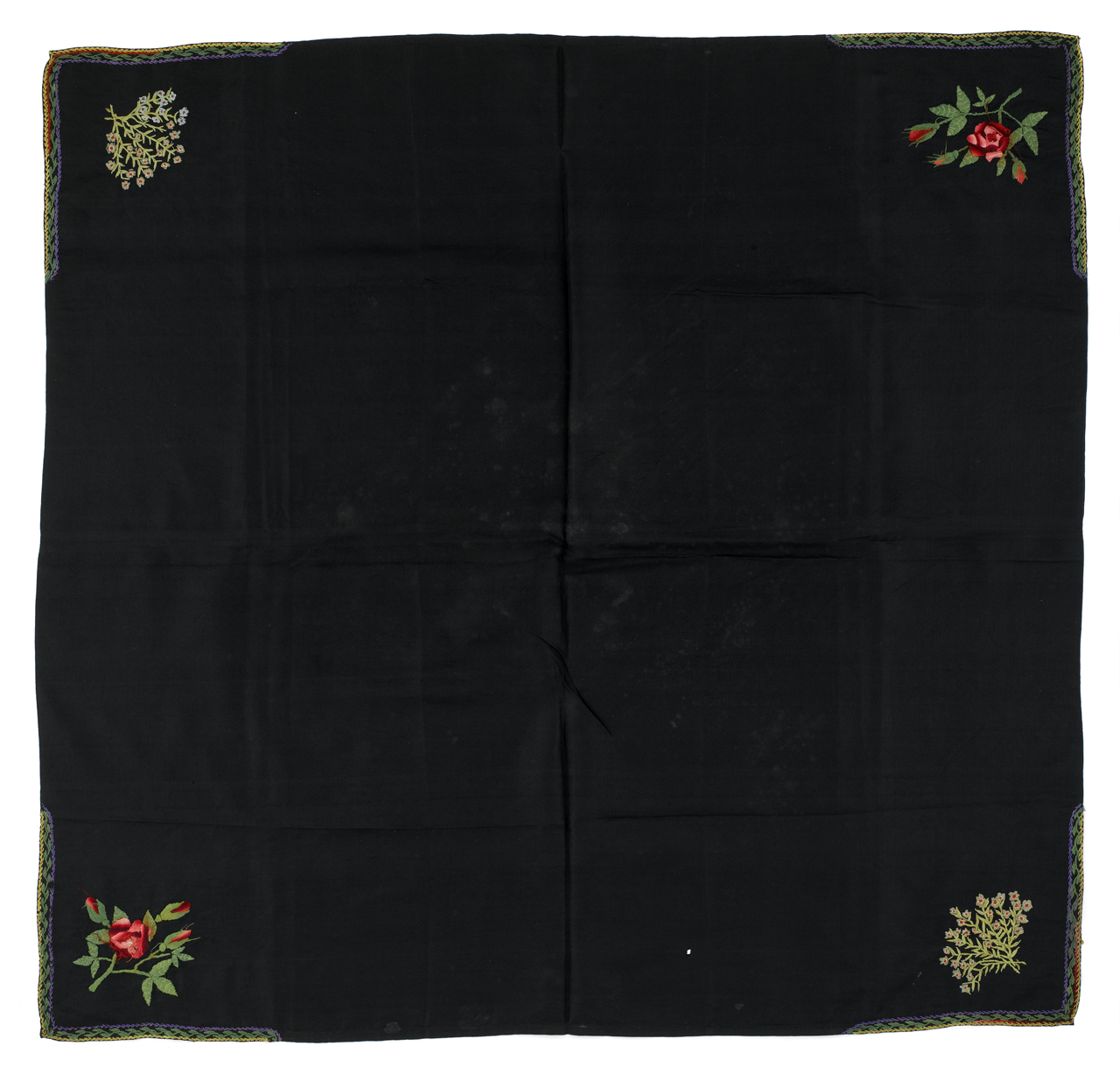 Black sailor's neckerchief