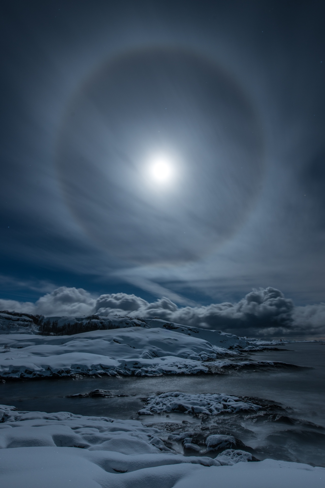 Halo by Bernt Olsen Our Moon Astronomy Photographer of the Year 2019