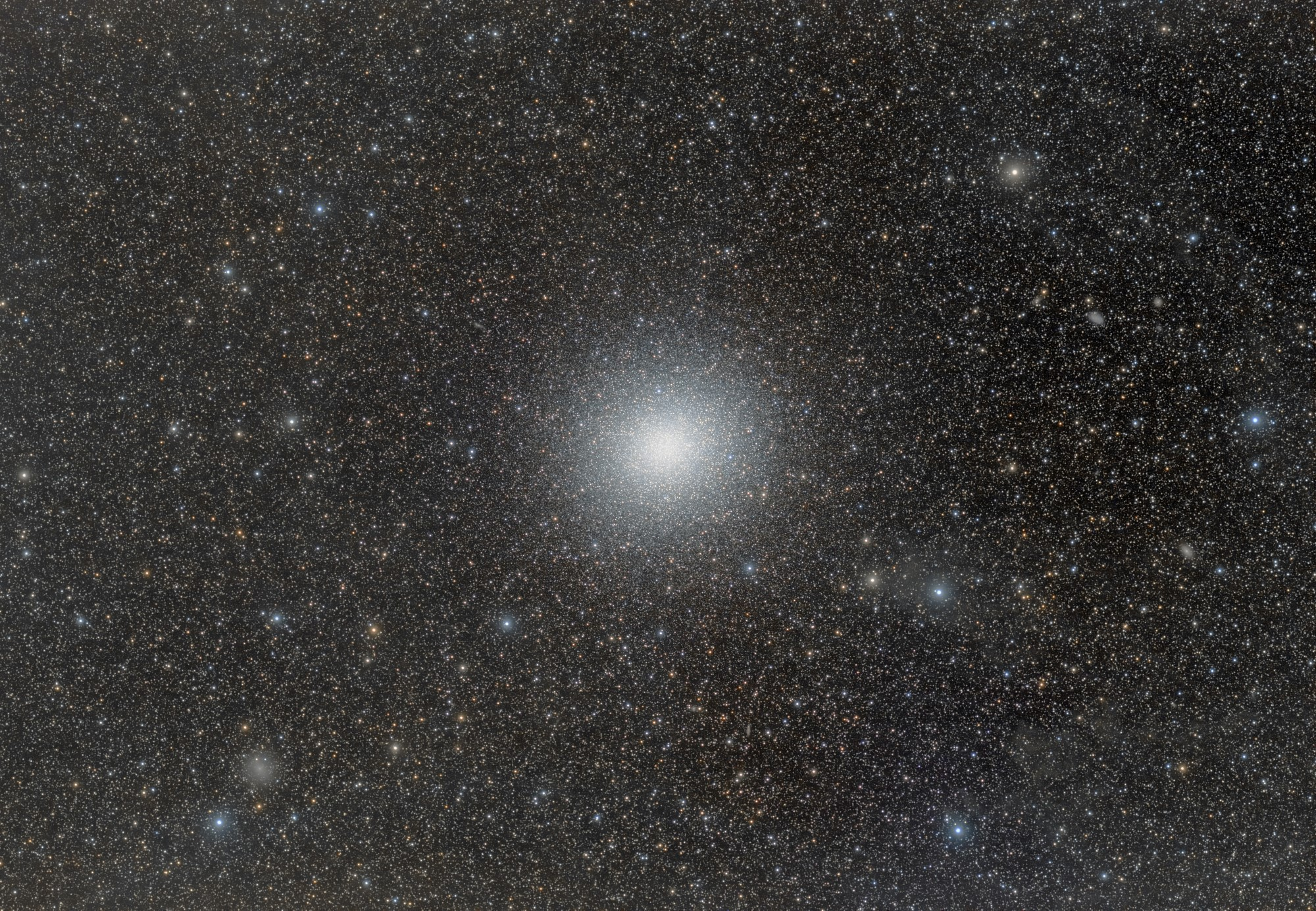 Omega Centauri and IFN by Roberto Colombari | Insight Investment Astronomy Photographer of the Year 2019 | Stars and Nebulae