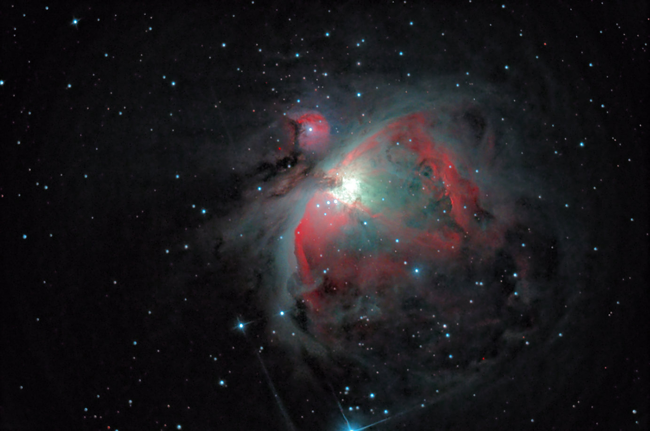 Orions Gaseous Nebula © Sebastien Grech