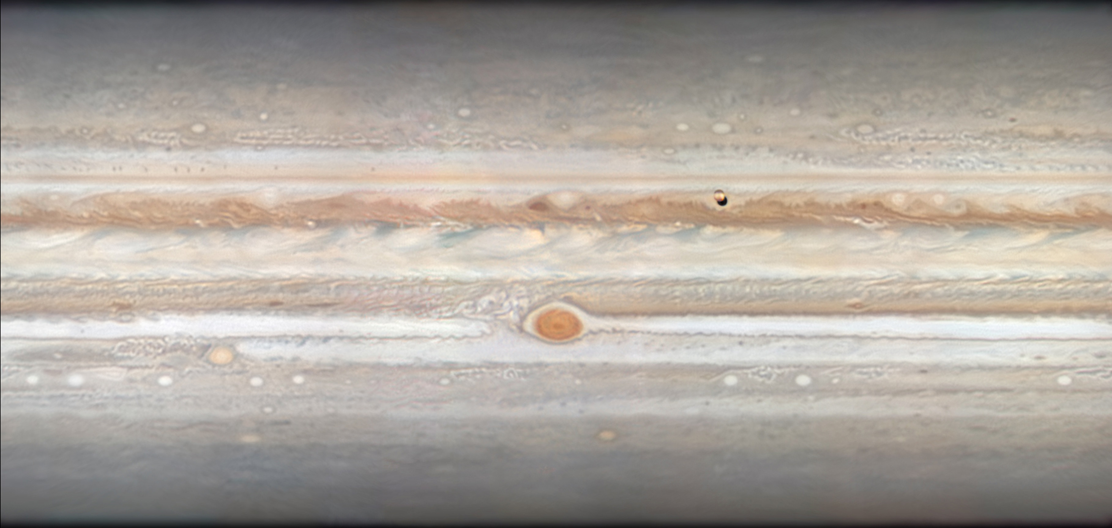 Insight Investment Astronomy Photographer of the Year 2019: Planets, Comets and Asteroids - Jupiter Unravelled © Damian Peach