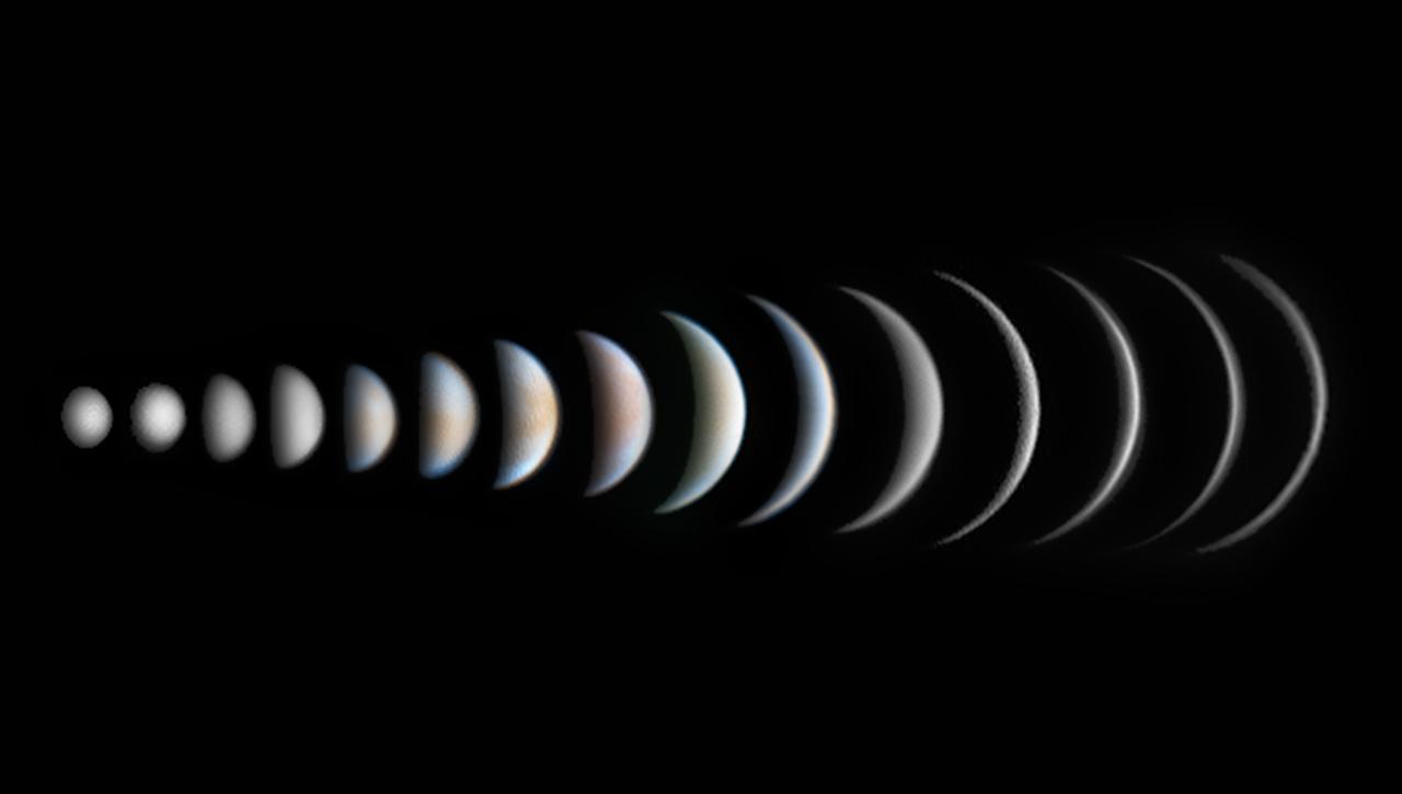 Venus Phase Evolution © Roger Hutchinson Winner