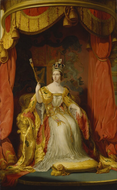 Queen Victoria, Sir George Hayter, National Portrait Gallery, London