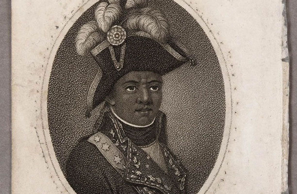 Illustartion of 'Toussaint Louverture, Chief of the French Rebels in St. Domingo'