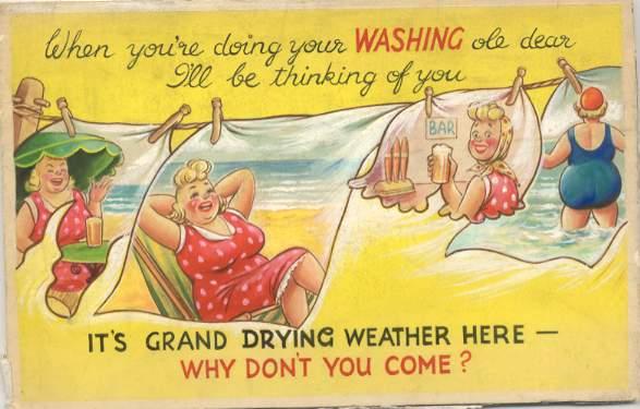 Image of seaside postcard