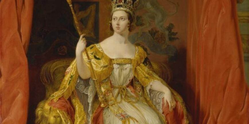 Portrait of Queen Victoria by Sir George Hayter