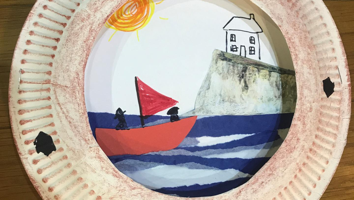 Make a ship's porthole