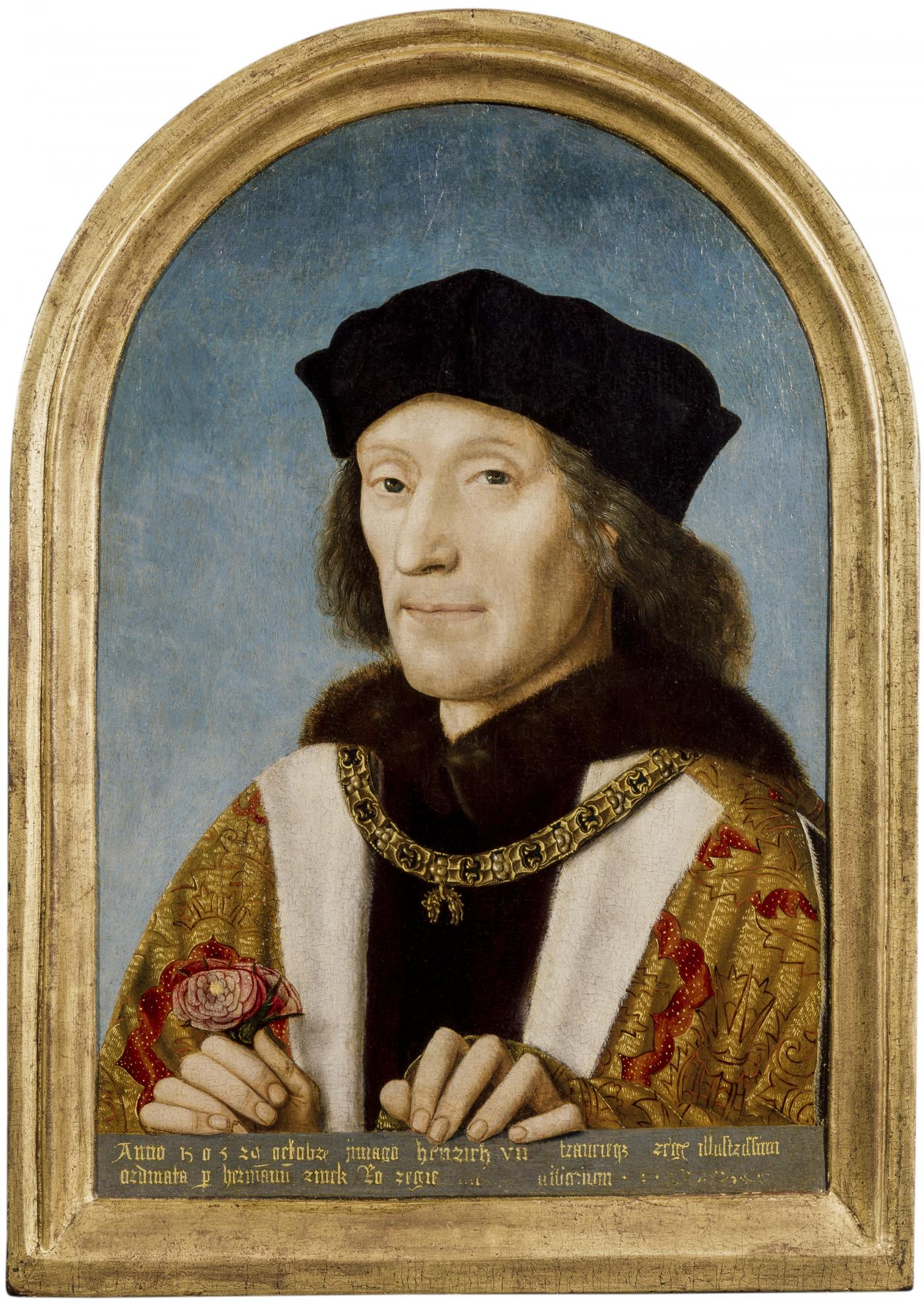 An image showing 'Henry VII by unidentified artist, 1505'