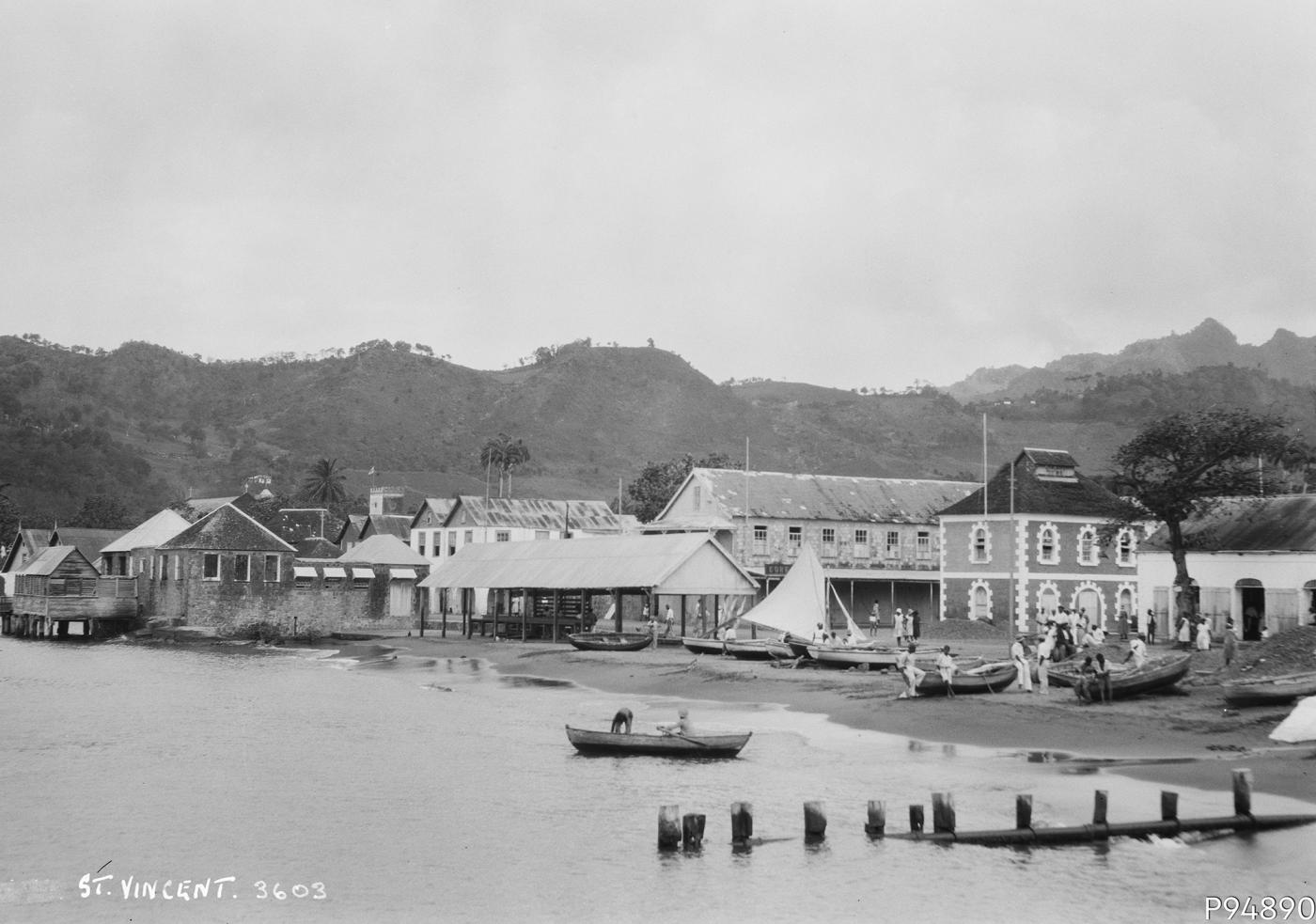 An image showing 'St. Vincent and the Grenadines, West Indies'
