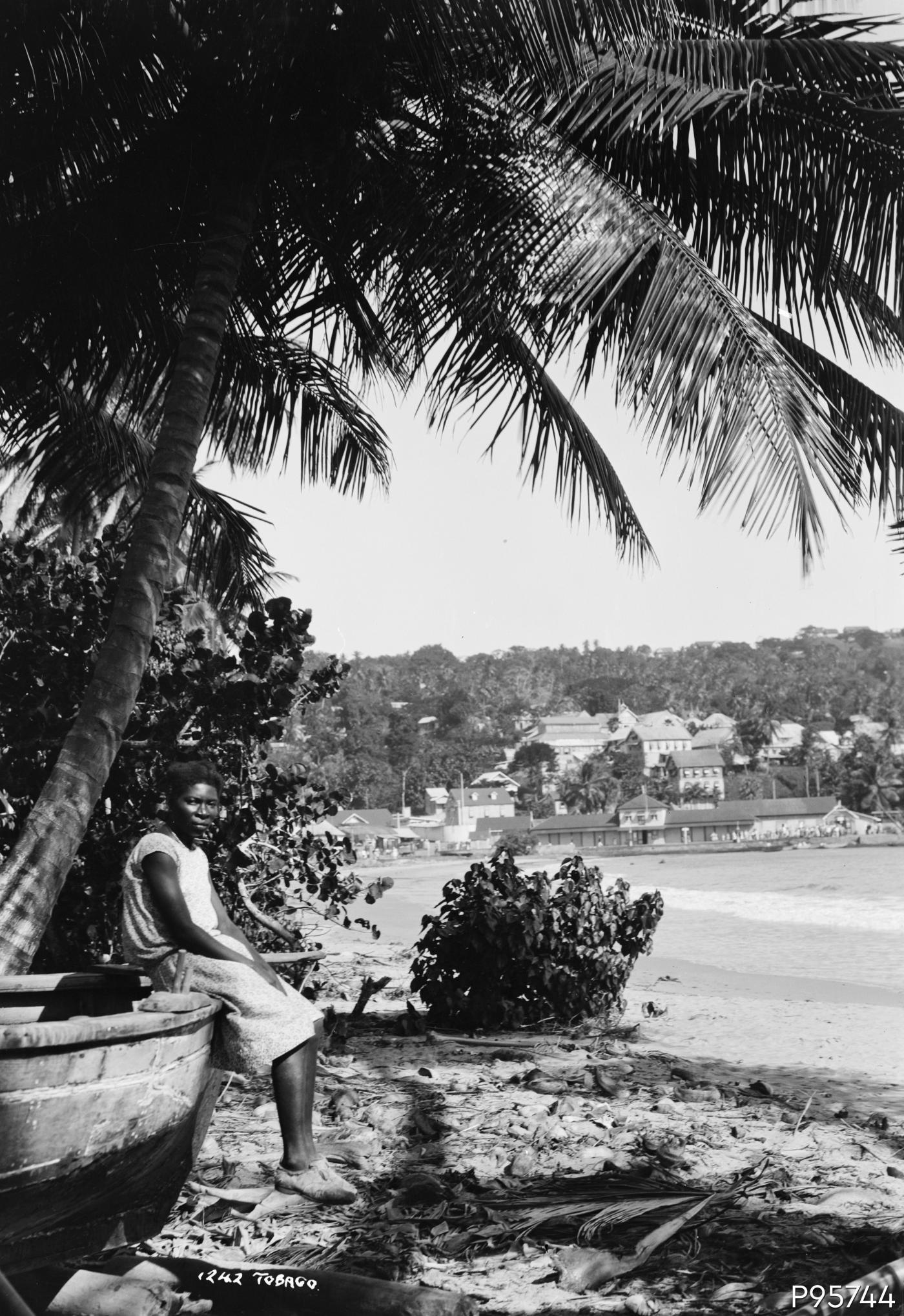 An image showing 'Scarborough, Tobago, West Indies'