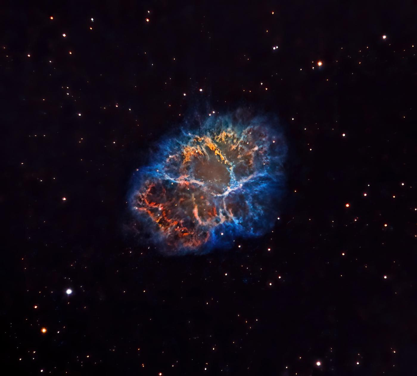 An image showing 'Crab Nebula '