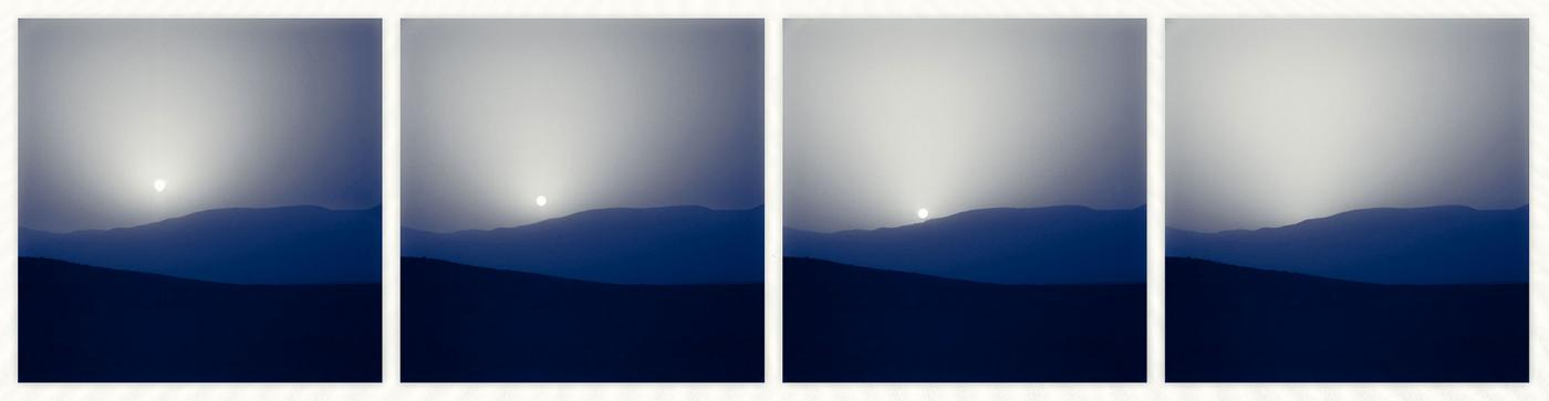 An image showing 'Martian Sunset'