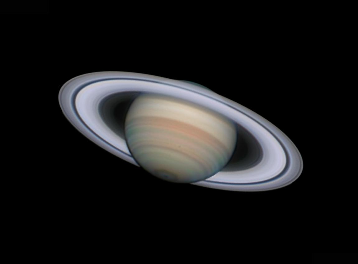 An image showing 'Saturn at its Best'