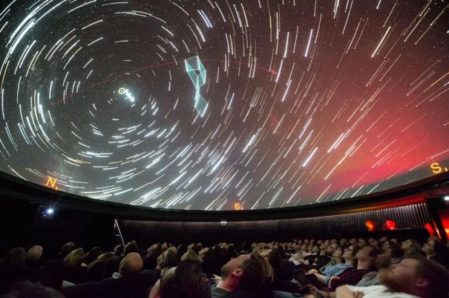 An image showing 'Planetarium Theatre'