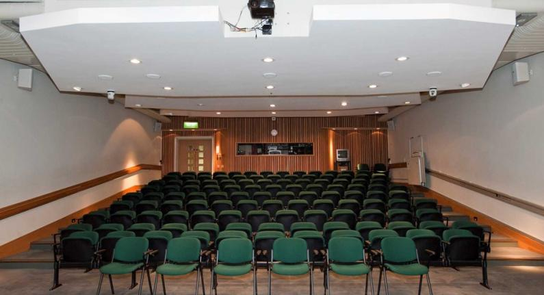 An image showing 'The Lecture Theatre'
