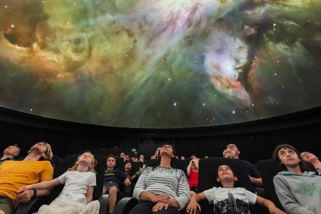 An image showing 'Peter Harrison Planetarium'