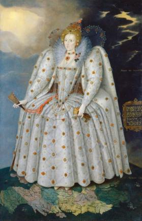 An image showing 'TheDitchleyportraitof Elizabeth I by Marcus Gheeraerts the Younger'