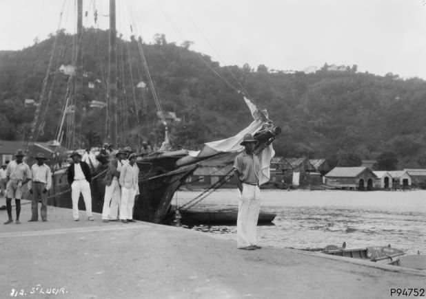 An image showing 'St. Lucia, West Indies'