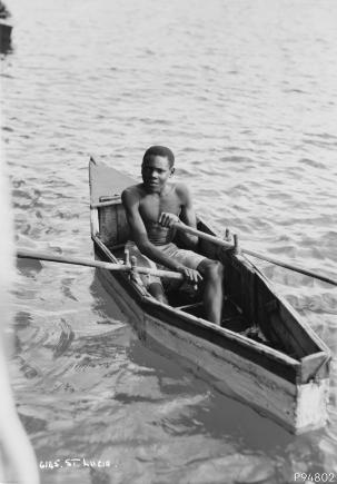 An image showing 'St Lucia, West Indies'