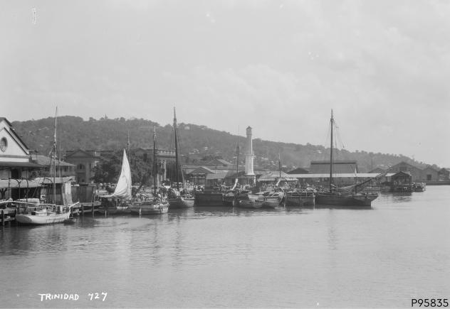 An image showing 'Port of Spain, Trinidad'