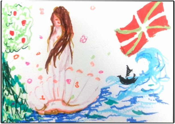 An image showing 'Mermaid'