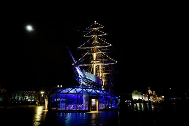 An image showing 'Cutty Sark'