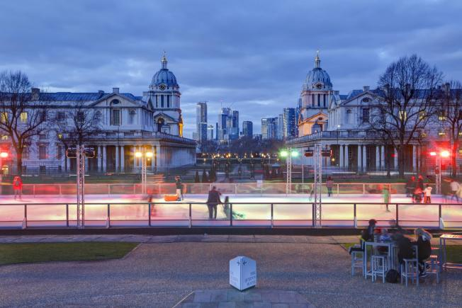 An image showing 'Queen's House Ice Rink'