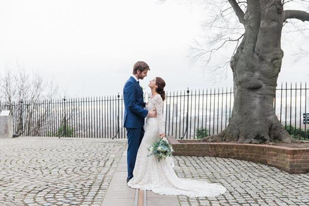 Royal Observatory Wedding Couple