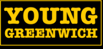 Young Greenwich Logo - Yellow on black