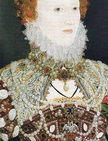 Portrait of Queen Elizabeth I, known as the Pelican Portrait