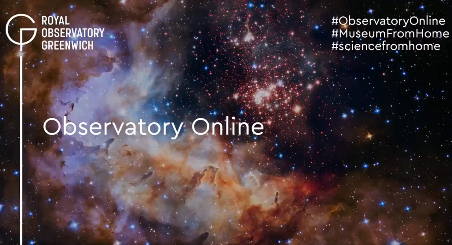 Join us for our new Observatory Online series