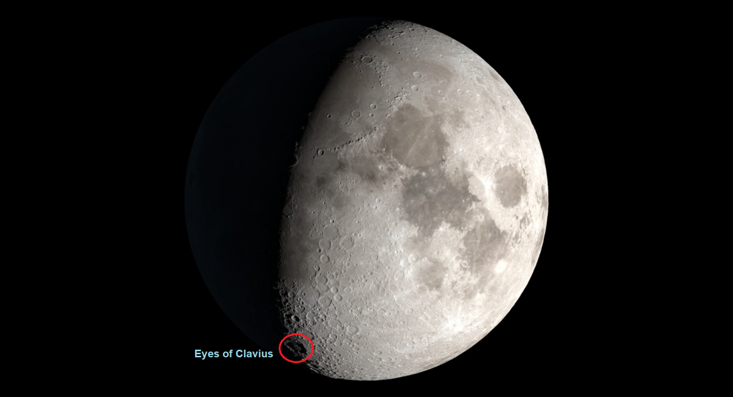 25/26 September - Craters on the Moon