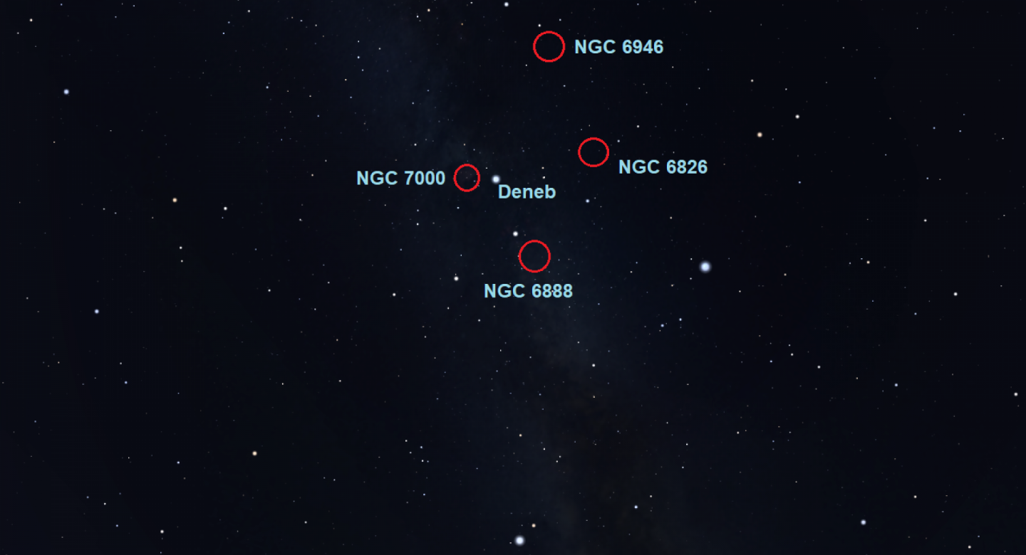 17 September - Have a look at some deep sky objects