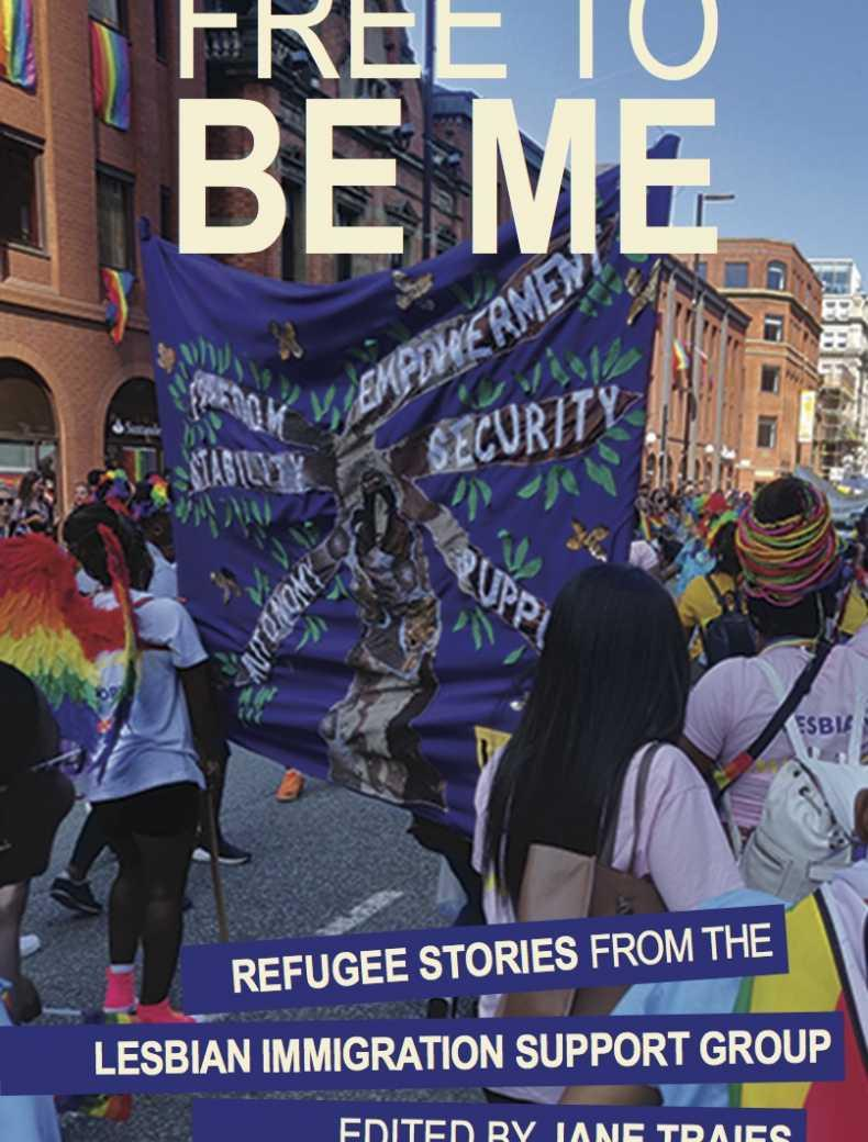 The front cover of the book Free To Be Me by Jane Traies
