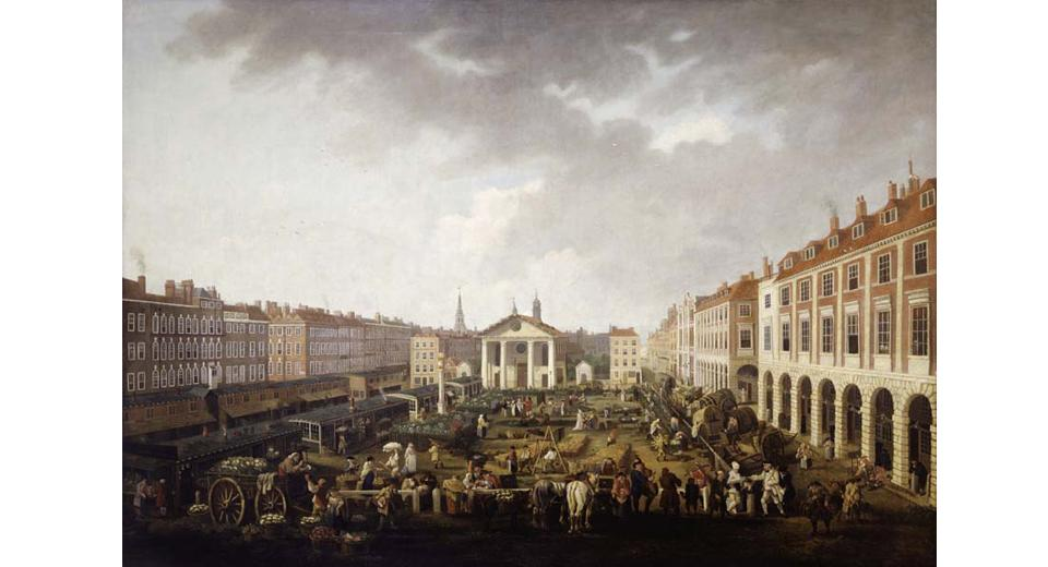 Covent Garden in the 18th century