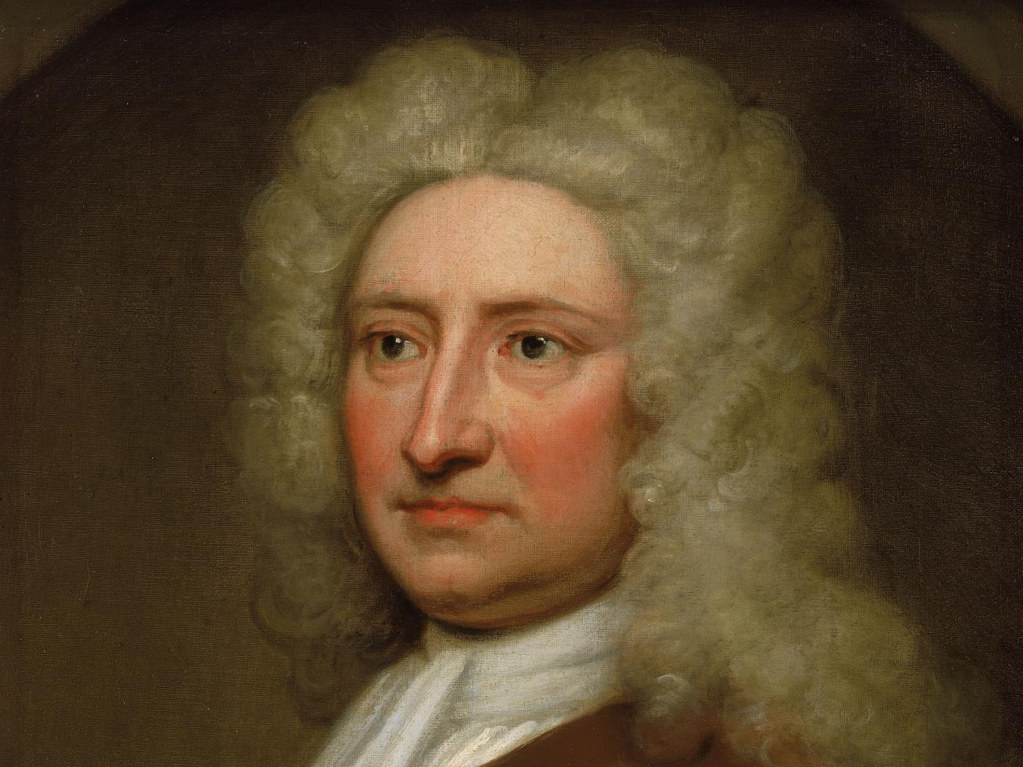 Edmond Halley by Sir Godfrey Kneller (detail)