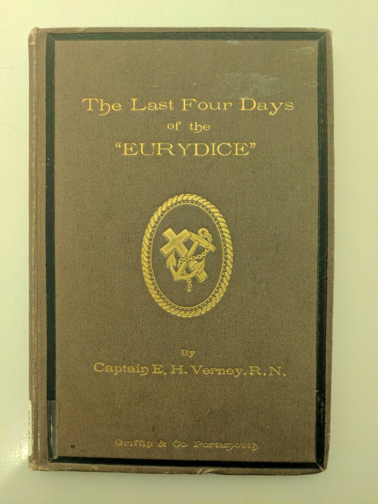 Front cover of the The Last Four Days of the 'Eurydice'