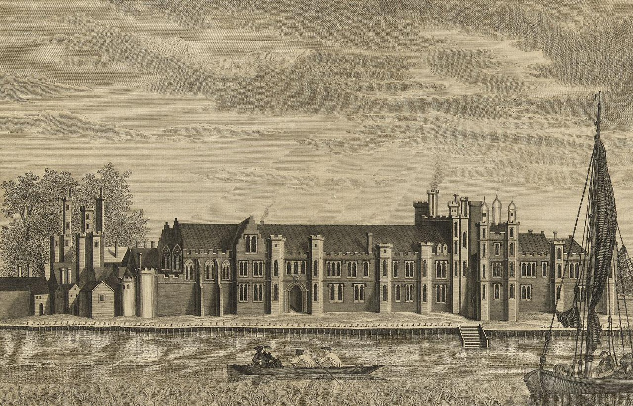 A View of the Ancient Royal Palace called Placentia, in East Greenwich (PAI5655, © NMM)