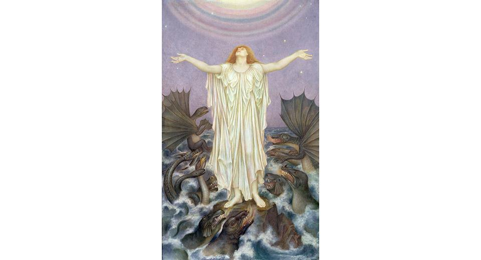 'S.O.S' (1914-16), by Evelyn de Morgan