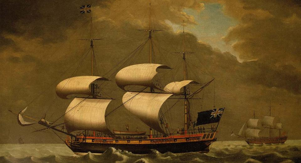 A Liverpool ship believed to have been involved in the slave trade