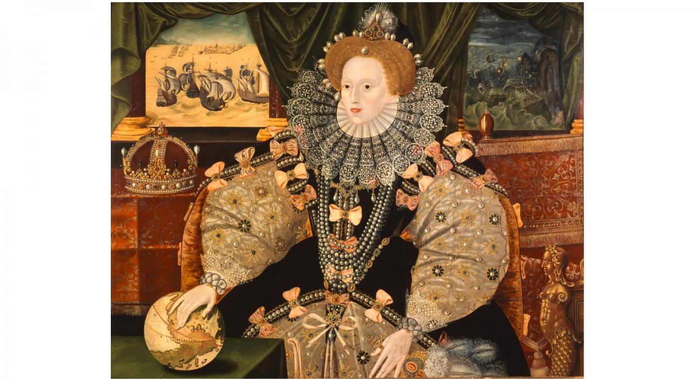 The Armada Portrait of Queen Elizabeth I (© The Woburn Abbey Collection)