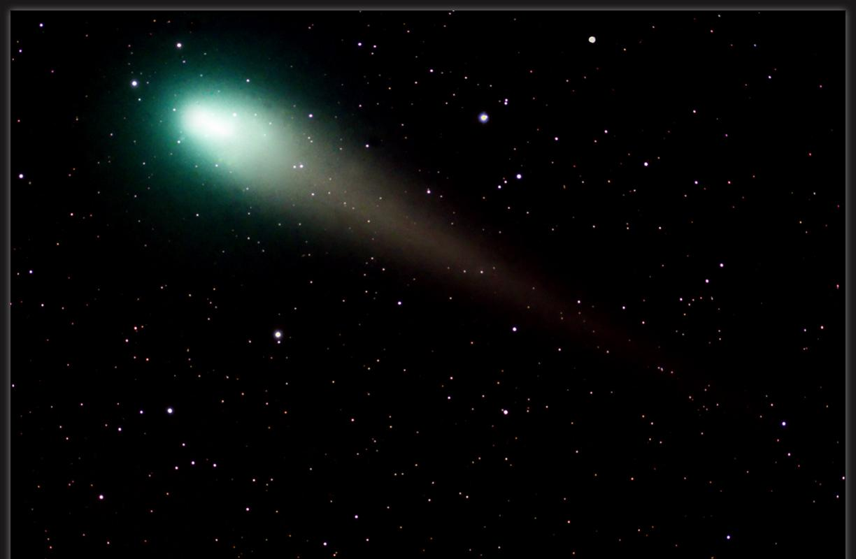 The Green Visitor (comet) © Richard Higby, Astronomy Photographer of the Year Our Solar System Commended 2010