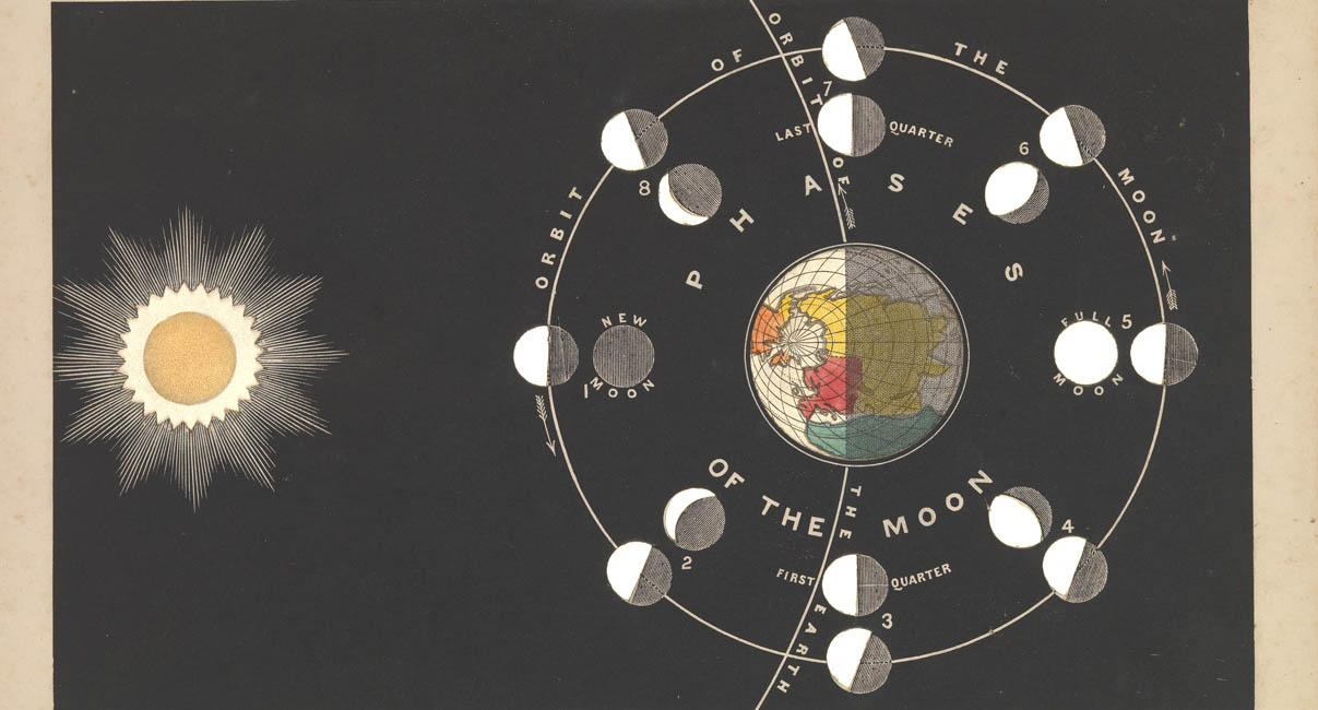 The phases of the moon by James Reynolds