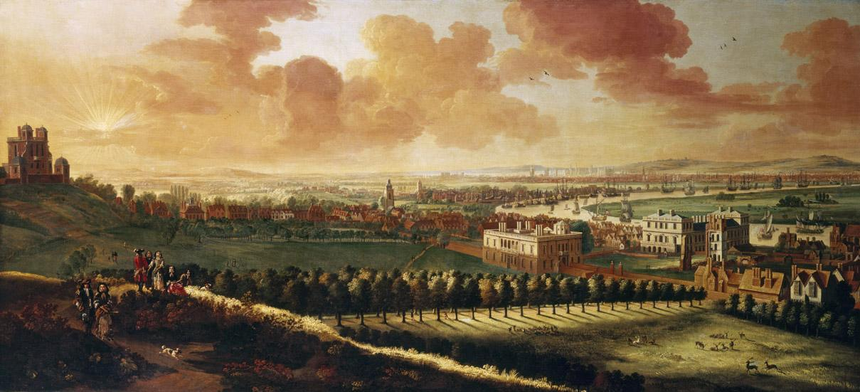 Greenwich and London from One Tree Hill (© NMM)